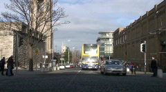 Dun Laoghaire Town Stock Footage