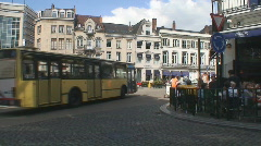 Brussels Roundabout - stock footage