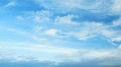time Lapse clouds. - stock footage