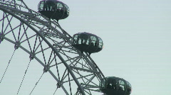 London Eye - stock footage