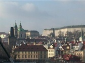 Stock Video Footage of Prague castle in winter