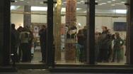 Theatre Lobby Stock Footage