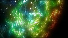 Light universe loop Stock Footage