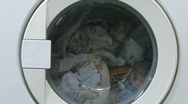 Washing machine Stock Footage