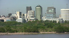 Stock Video Footage of Buenos Aires cityscape