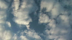 Rotating clouds Stock Footage