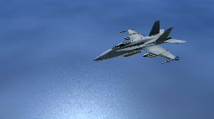 F18 Hornet Stock Footage