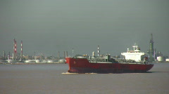 Oil Tanker - 2 clips Stock Footage