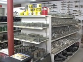 Stock Video Footage of Small Homes Supply Shop