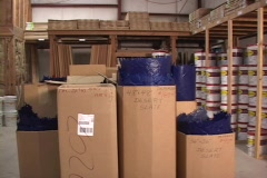 Warehouse Supply Center Stock Footage