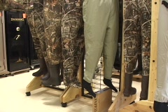 Hunting and fishing pants Stock Footage