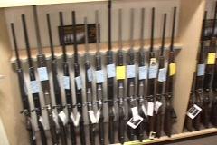 Stock Video Footage of Gun Rack