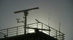 Radar station Stock Footage