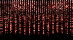 Matrix. Heart.  Stock Footage
