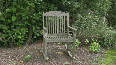 Rocking chair Stock Footage