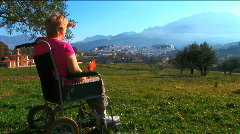 Mobility in the countryside Stock Footage