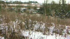 Winter_landscape_16 Stock Footage