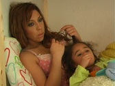 Stock Video Footage of Mother and Daughter in Bed-3a