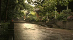 Hang Zhou Lingyin Temple and Garden 17 - stock footage