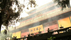 Hang Zhou Lingyin Temple and Garden 18 - stock footage