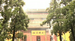 Hang Zhou Lingyin Temple and Garden 22 - stock footage