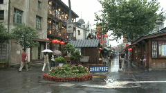Hang Zhou Shopping 7 Stock Footage