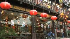 Hang Zhou Shopping 8 Stock Footage