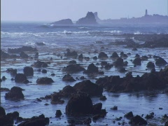 Ocean Rocks Blue 2 Stock Footage