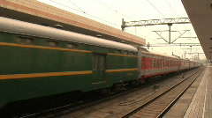 Hang Zhou Train Station 1 - stock footage