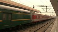 Hang Zhou Train Station 1 Stock Footage