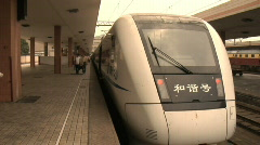 Hang Zhou Train Station 3 - stock footage