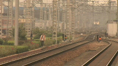 Hang Zhou Train Station 9 - stock footage