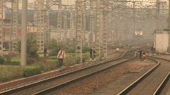 Hang Zhou Train Station 9 Stock Footage