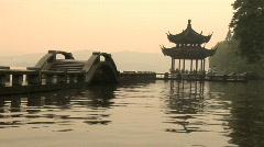 Hang Zhou Xi Hu Lake 2 Stock Footage