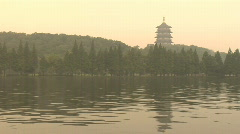 Hang Zhou Xi Hu Lake 3 Stock Footage