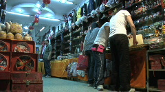 Hou Hai Hutong Shopping 2 Stock Footage