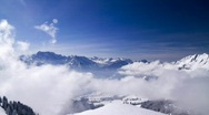 HD winter fog time lapse 5 Stock Footage