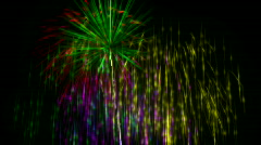 Fireworks with alpha channel - Loopable HD1080 Stock Footage