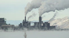 New Mexico power plant Stock Footage