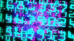 Numerot 80s graafinen Arkistovideo