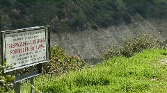 Trespassing 02 Stock Footage