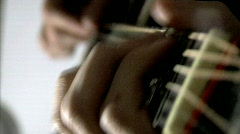 Guitar 02 Stock Footage
