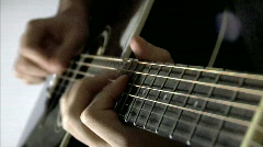 Guitar 06 Stock Footage