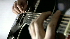 Guitar 08 Stock Footage