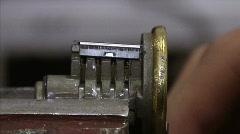Lock 07 Stock Footage