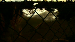 Fence 02 Stock Footage