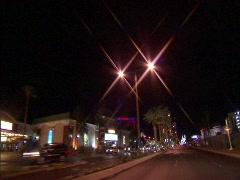 Driving Las Vegas Blvd  Stock Footage