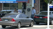 Stock Video Footage of At A Gas Station