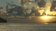 Stock Video Footage of Time Lapse Sunrise Hawaii 105