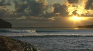 Stock Video Footage of Time Lapse Sunrise Hawaii 106